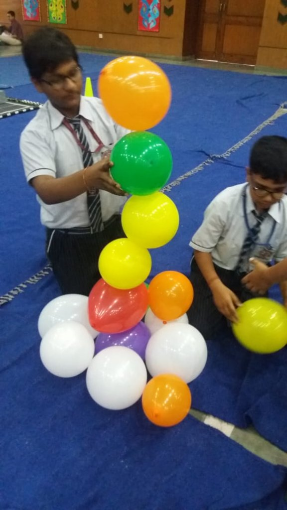 Participation in the Atal Tinkering Lab Community Day , Celebrated on 15th April 2019 Organized by D.A.V. Public School, Gurugram