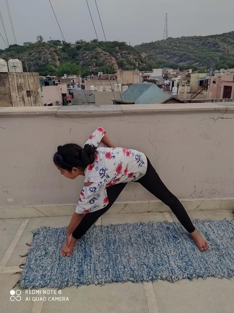 International Yoga Day 2020 (Yoga for Health-Yoga At Home with family)